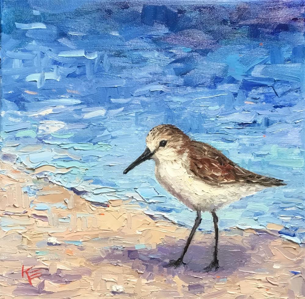 """Sunshine & Surf"" original fine art by Krista Eaton"