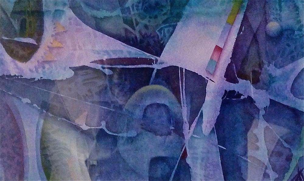 """Purple Pleasures"" original fine art by Mark Allison"