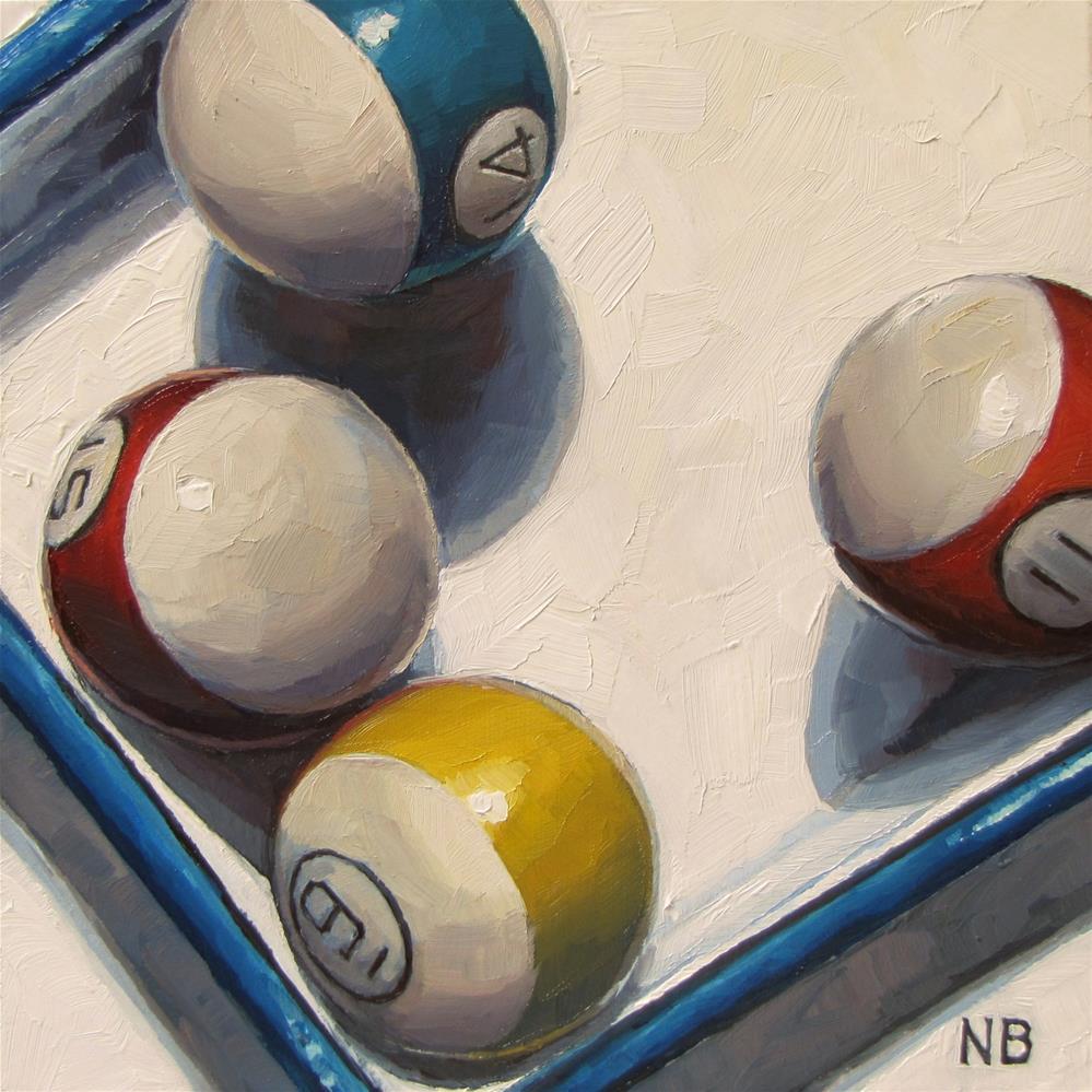 """Fourteen and the Oddballs"" original fine art by Nora Bergman"