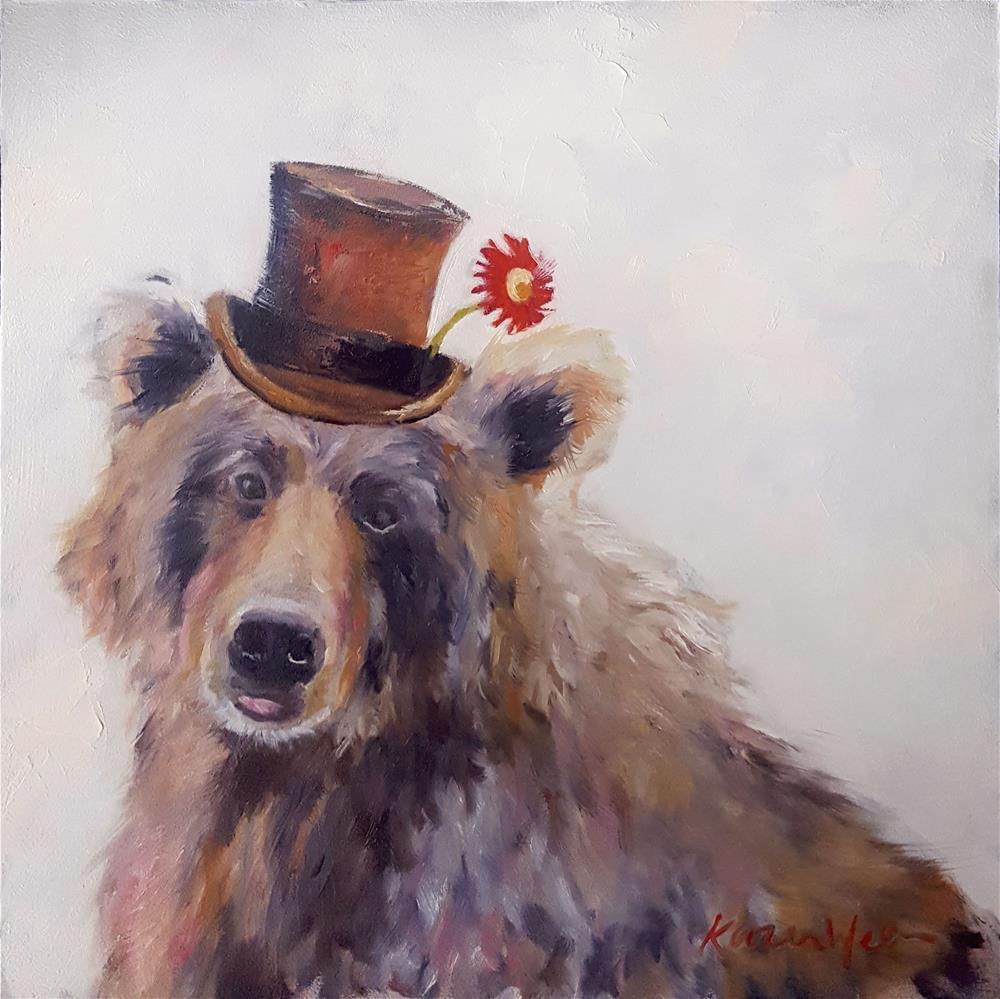 """Uncle Urso's Hat"" original fine art by Karen Weber"