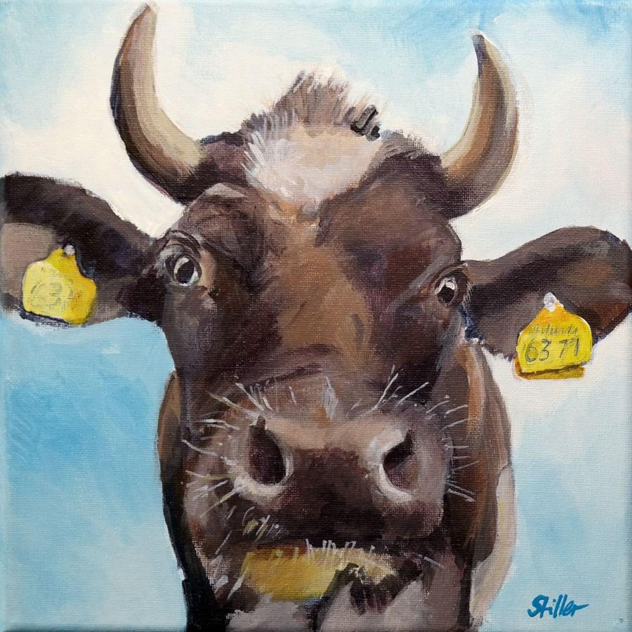 """""""1875 Haute Cowture"""" original fine art by Dietmar Stiller"""