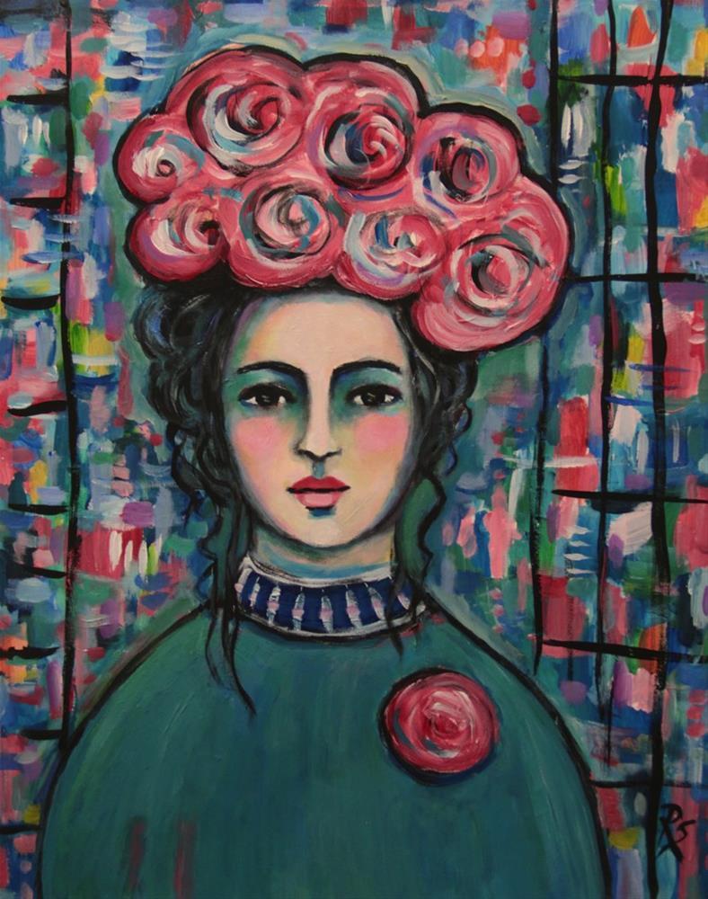 """""""Esme II"""" original fine art by Roberta Schmidt"""