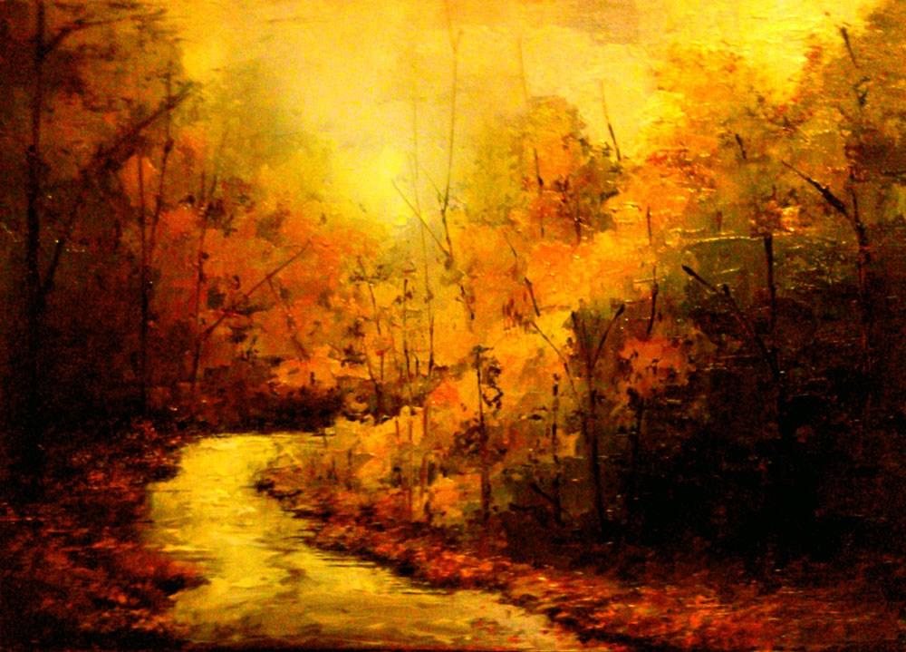 """Lost River"" original fine art by Bob Kimball"