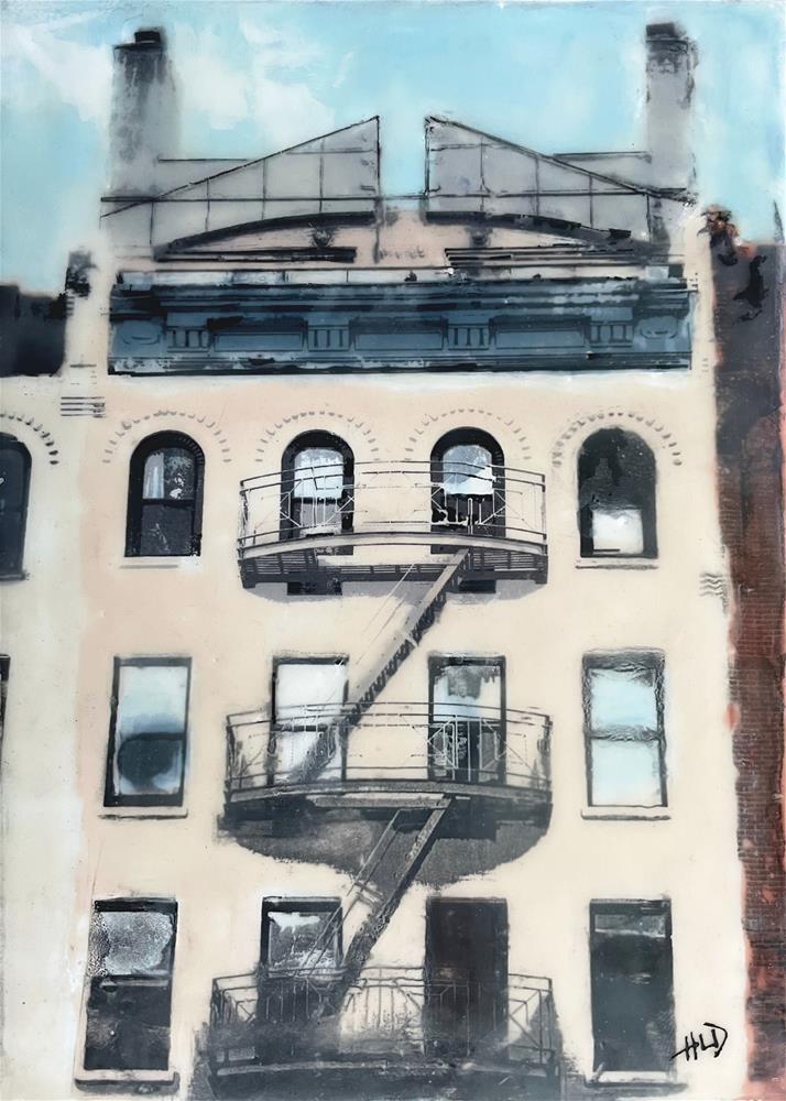 """On Amsterdam Ave."" original fine art by Heather Douglas"