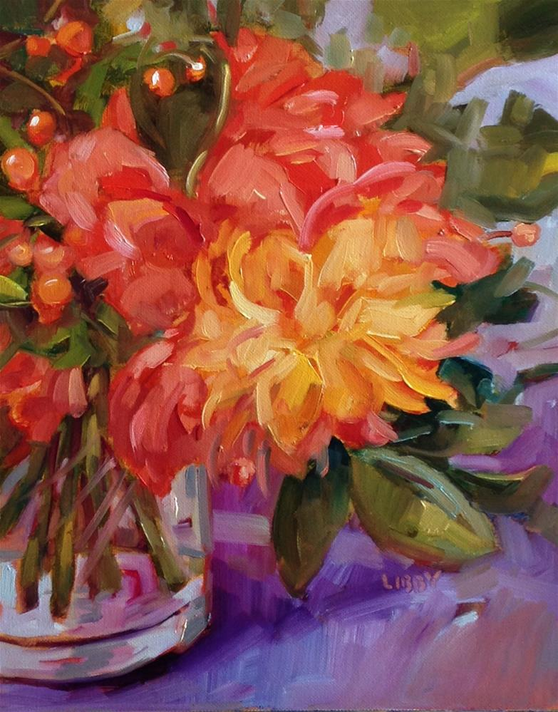 """""""Color and Promise"""" original fine art by Libby Anderson"""