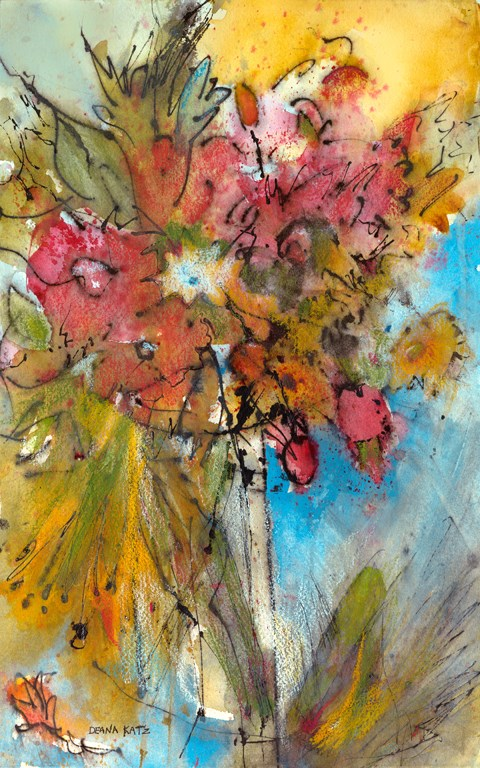 """Love Offering "" original fine art by Deana Katz"