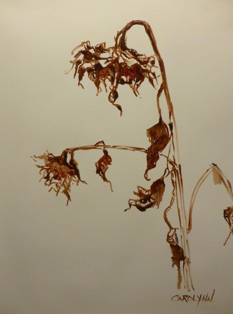 """When All Is Said And Done"" original fine art by Carolynn Doan"
