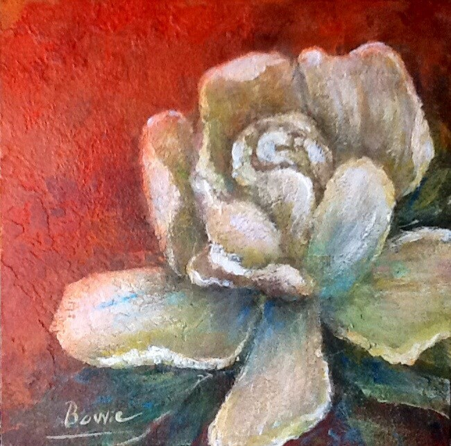 """""""A Whiter Shade of Pale"""" original fine art by Maureen Bowie"""