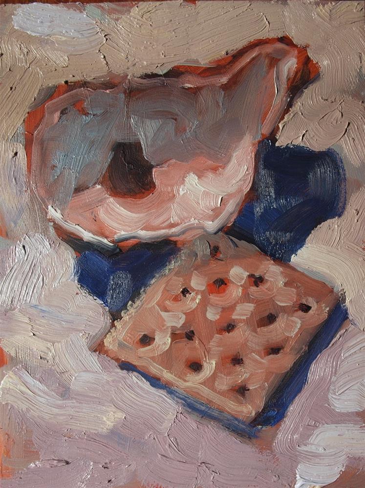 """""""Oyster Cracker 2"""" original fine art by Rick Nilson"""