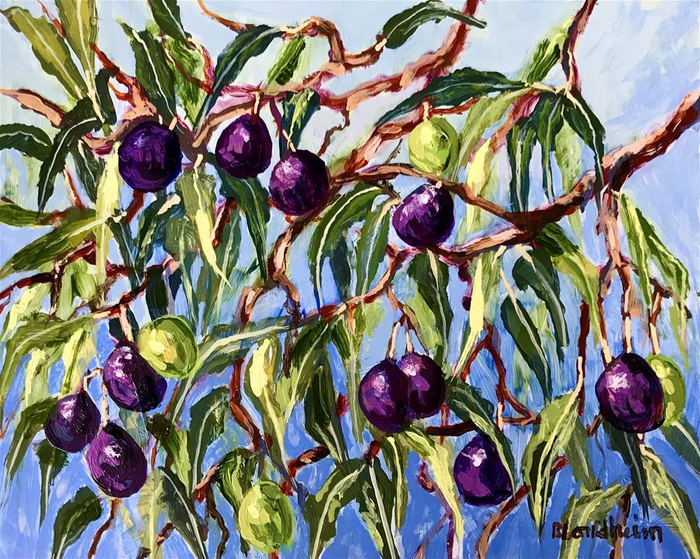 """Olive Tree"" original fine art by Linda Blondheim"