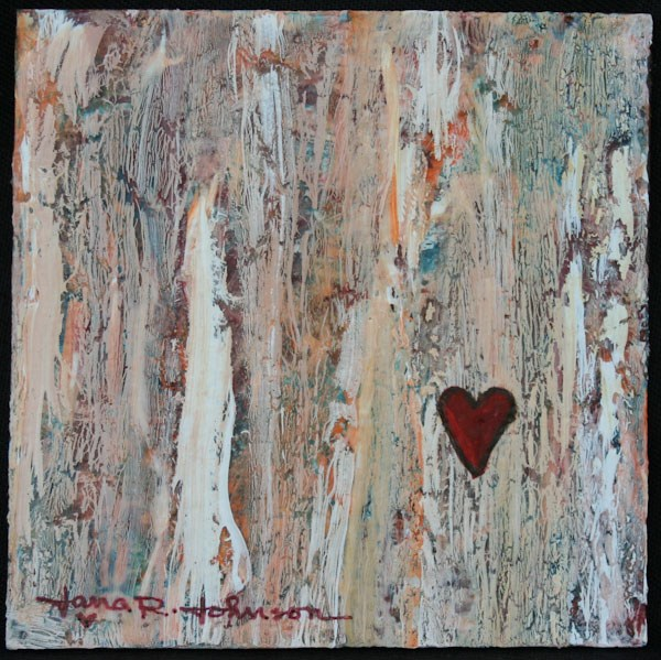 """Love Is Kind"" original fine art by Jana Johnson"