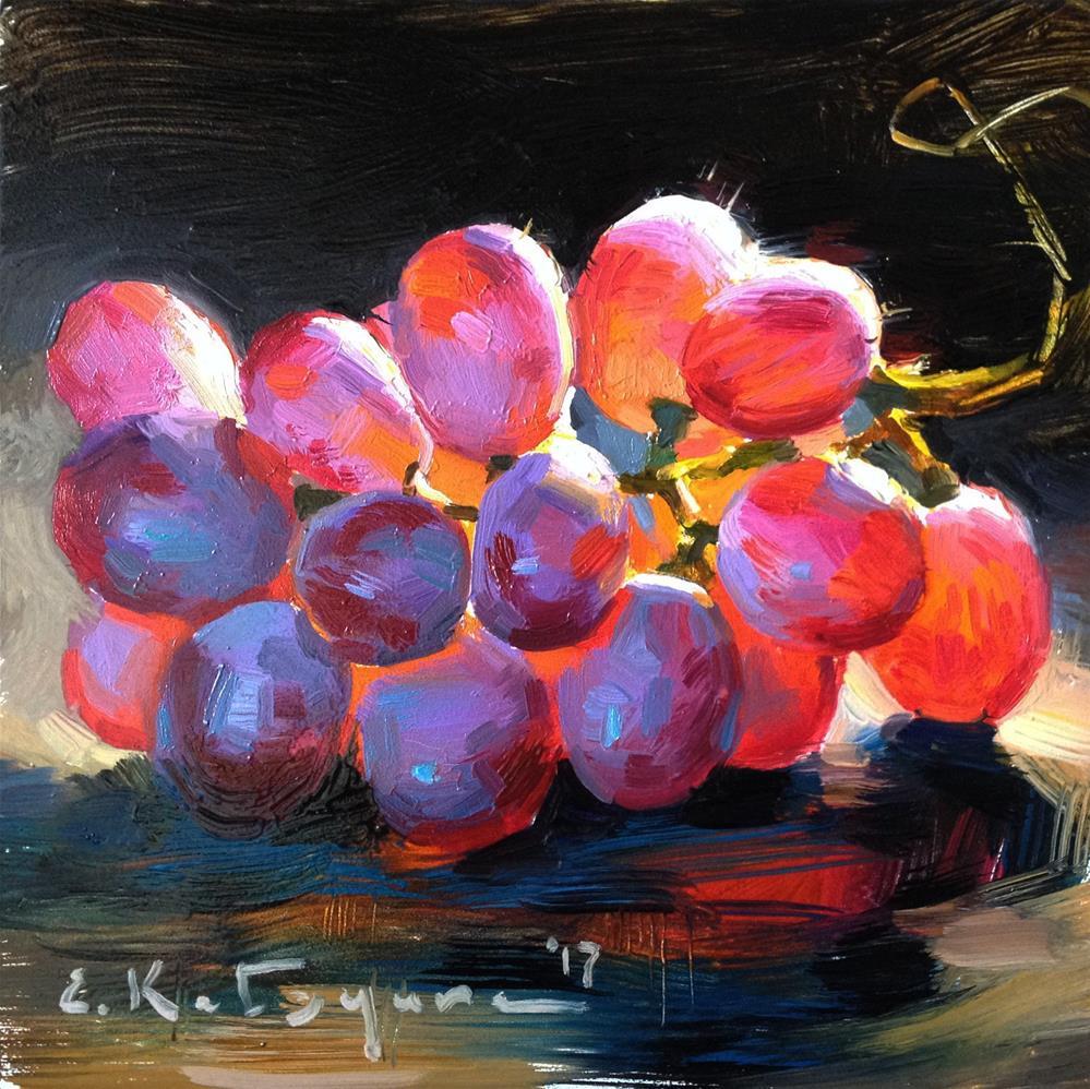 """""""Sonera Seedless"""" original fine art by Elena Katsyura"""
