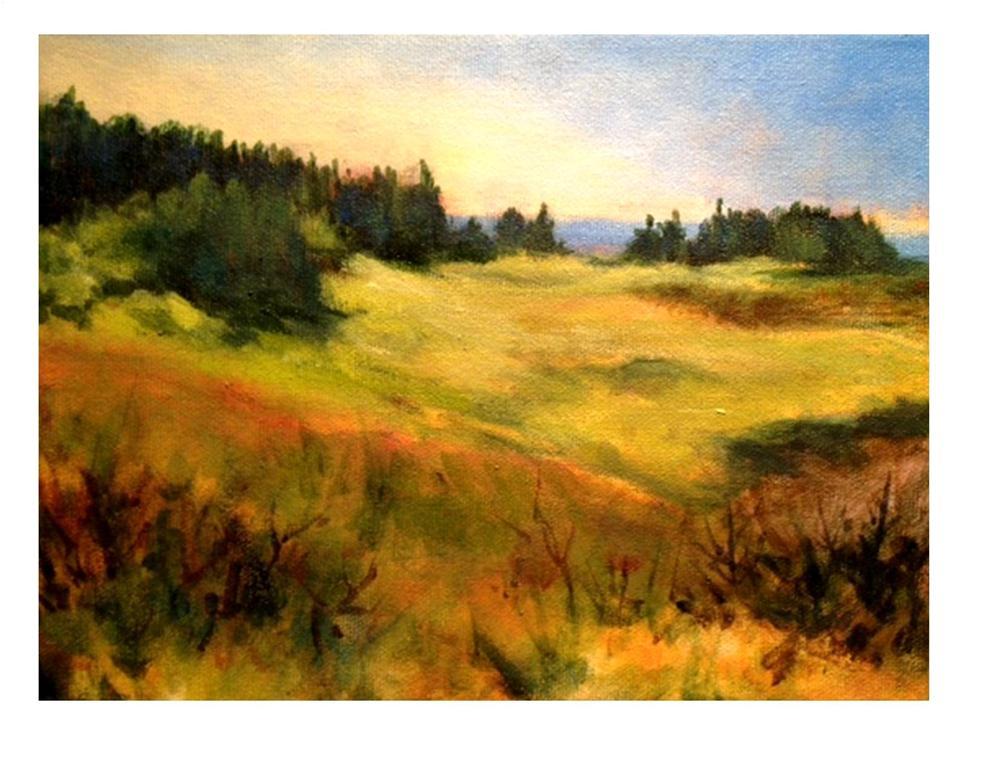 """Toward Christmas Cove - Monhegan"" original fine art by Suzanne Woodward"