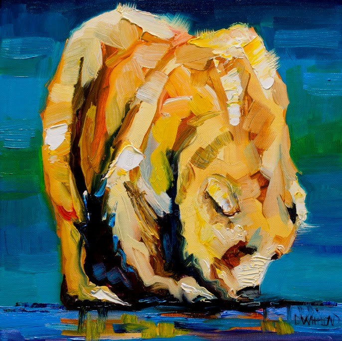 """ARTOUTWEST BEAR ANIMAL WILDLIFE STUDIES BY ARTIST DIANE WHITEHEAD"" original fine art by Diane Whitehead"
