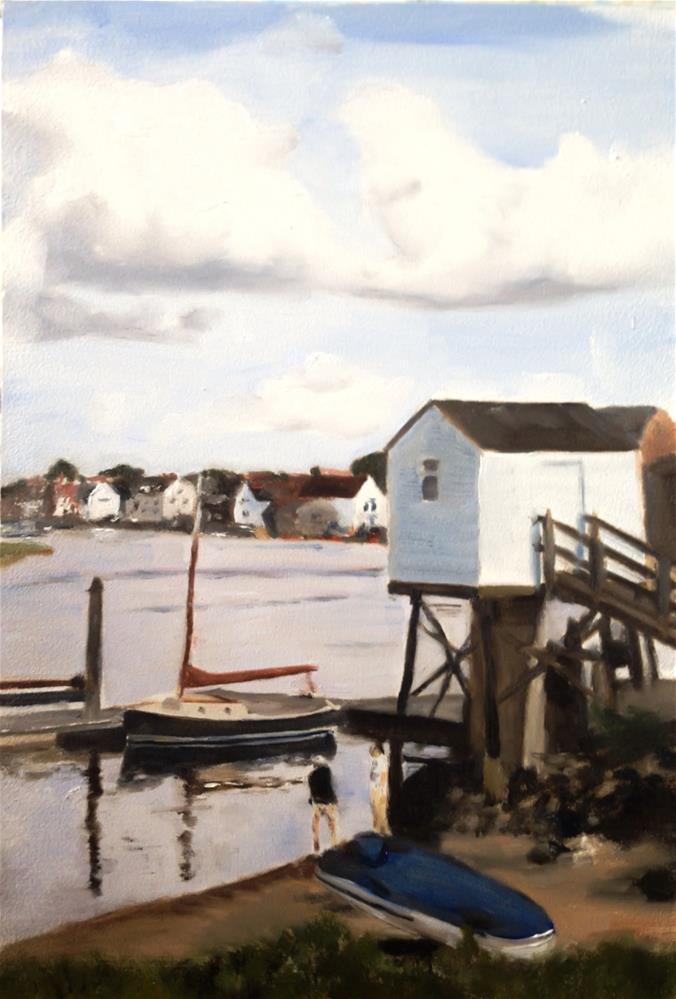 """Wells-Next-The-Sea number 2"" original fine art by James Coates"