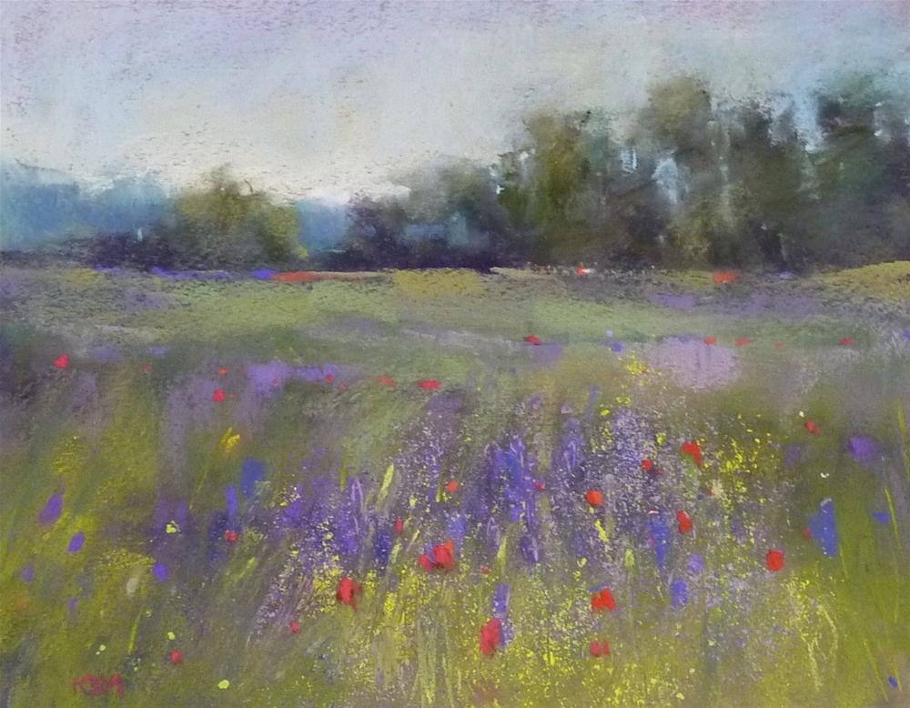 """Wildflower Meadow 'Beauty Surrounds Us'"" original fine art by Karen Margulis"