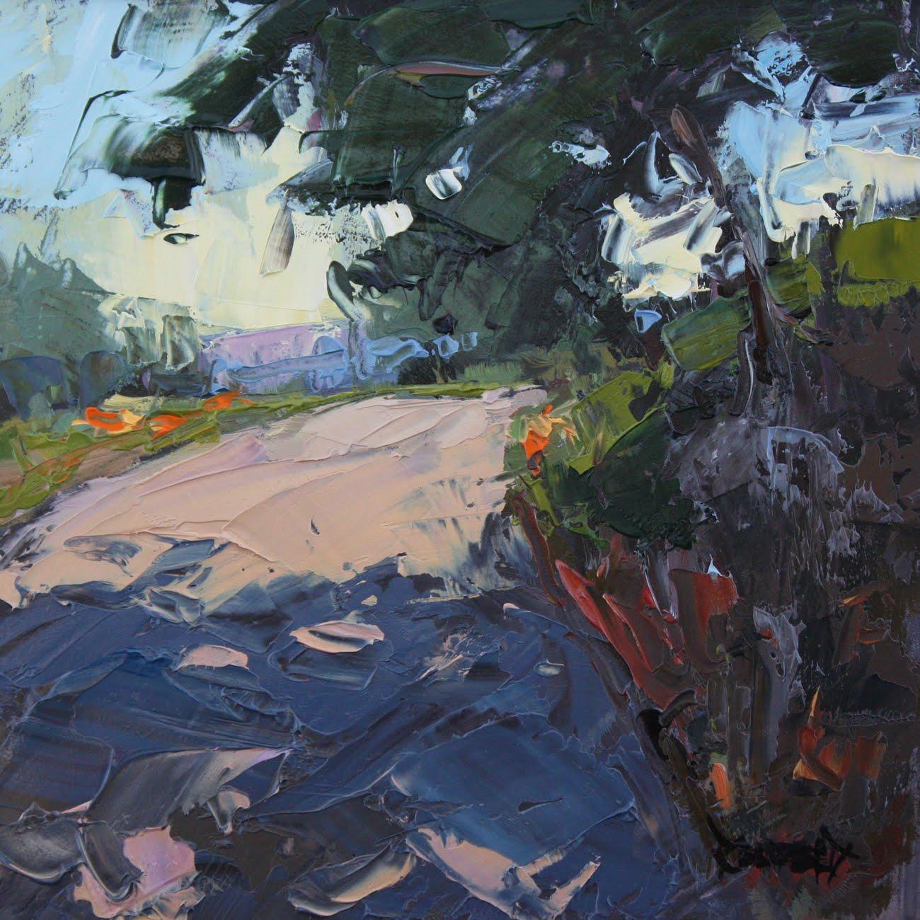 """Mosier Tunnels Trail"" original fine art by Cathleen Rehfeld"