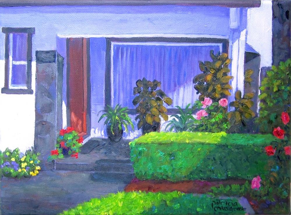 """""""Our Neighbors' House"""" original fine art by Patricia Musgrave"""