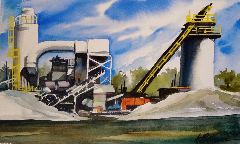 """Insights on Industry IV"" original fine art by Kathy Los-Rathburn"