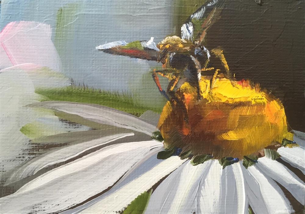"""""""Pollen Nation"""" original fine art by Gary Bruton"""