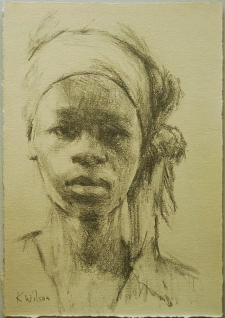 """Drawing #5"" original fine art by Katie Wilson"