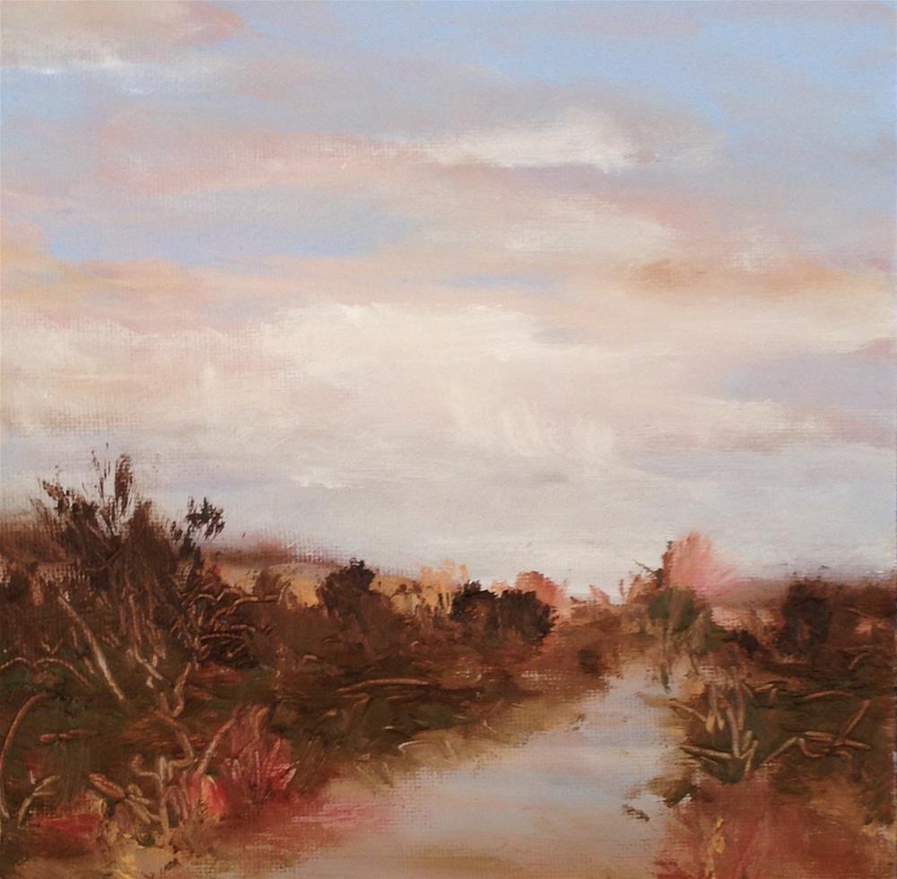 """Beach trail"" original fine art by christina glaser"