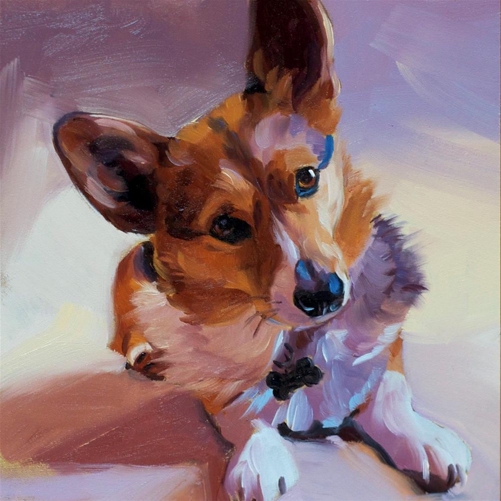 """""""Dawson"""" original fine art by Heather Bullach"""