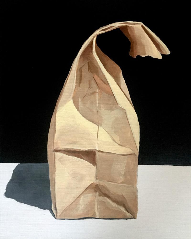 """""""Paper Bag No. 6"""" original fine art by Anna Shikany"""