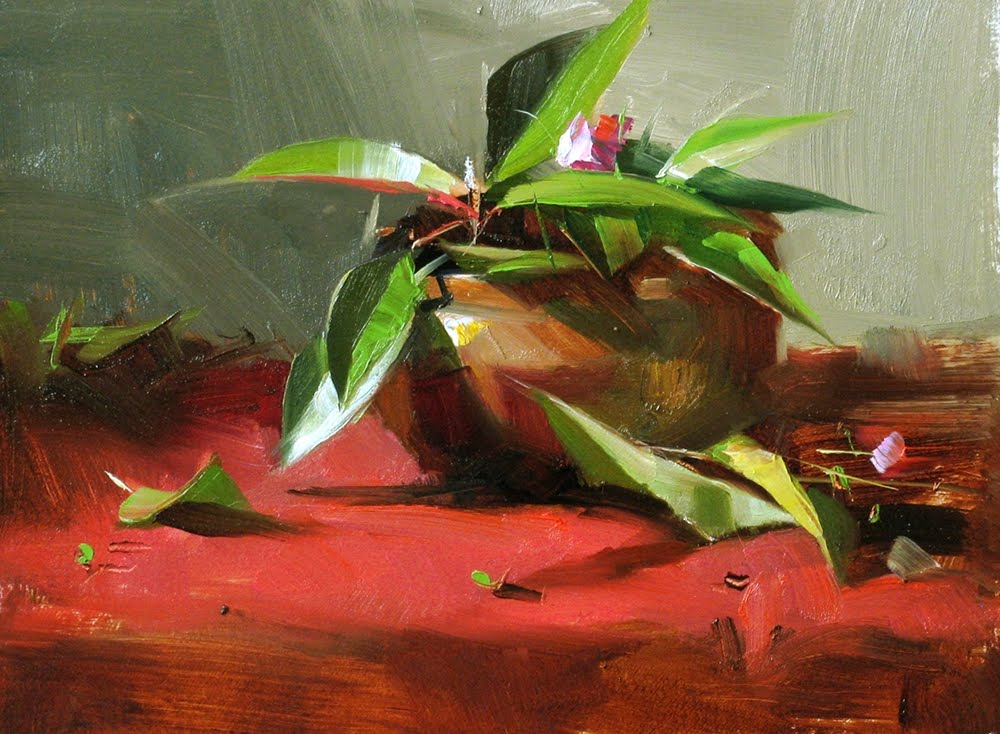 """Green Rhythm 3"" original fine art by Qiang Huang"
