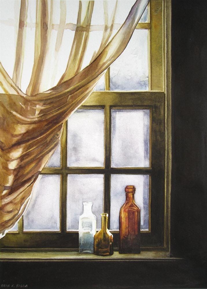 """""""Monday Morning"""" original fine art by Kara K. Bigda"""