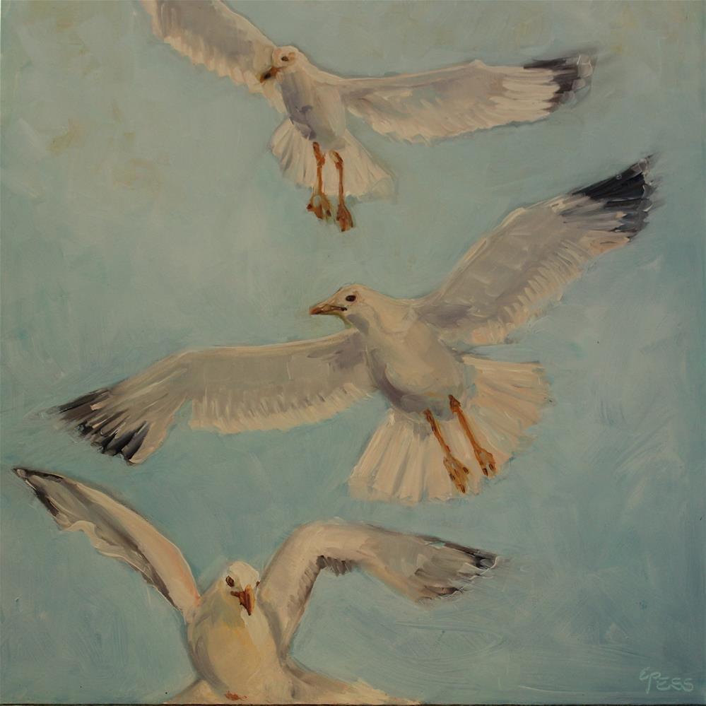 """Free Bird-Lynyrd Skynyrd"" original fine art by Tess Lehman"