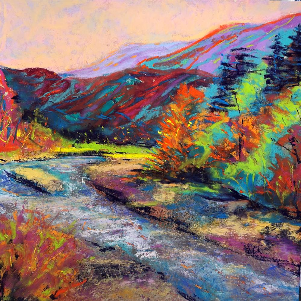 """Elwha Awakening"" original fine art by Karen O'Brien"