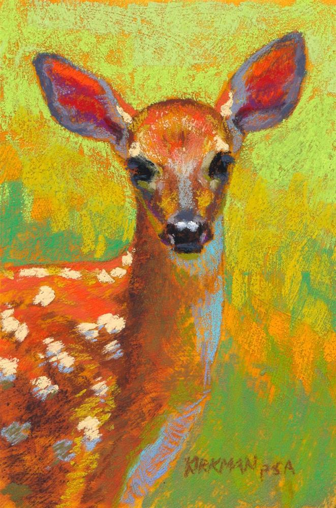 """""""Gem"""" original fine art by Rita Kirkman"""