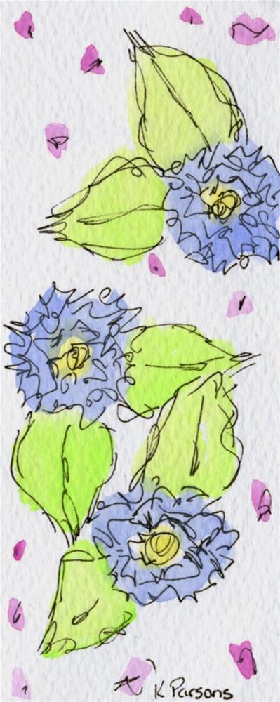 """Spring has Sprung"" original fine art by Kali Parsons"