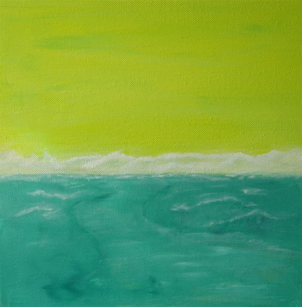 """Sunny Cold Day"" original fine art by Alina Frent"