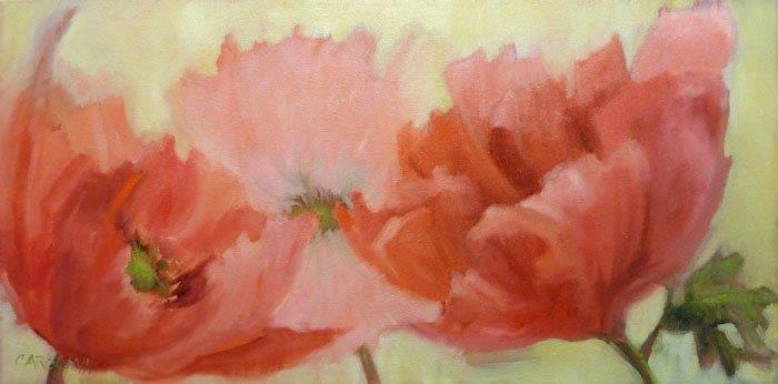 """For The Love Of Poppies"" original fine art by Carolynn Doan"