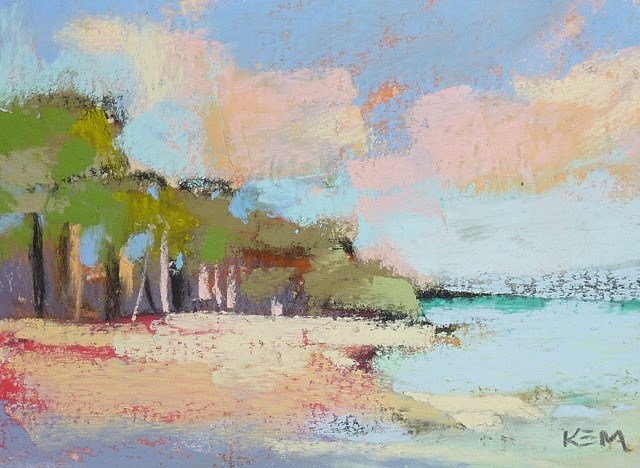 """""""An Effective Way to Loosen Up Your Paintings"""" original fine art by Karen Margulis"""