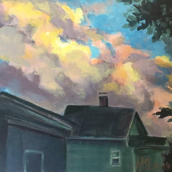 """Sky Ambrosia"" original fine art by Mary Pargas"