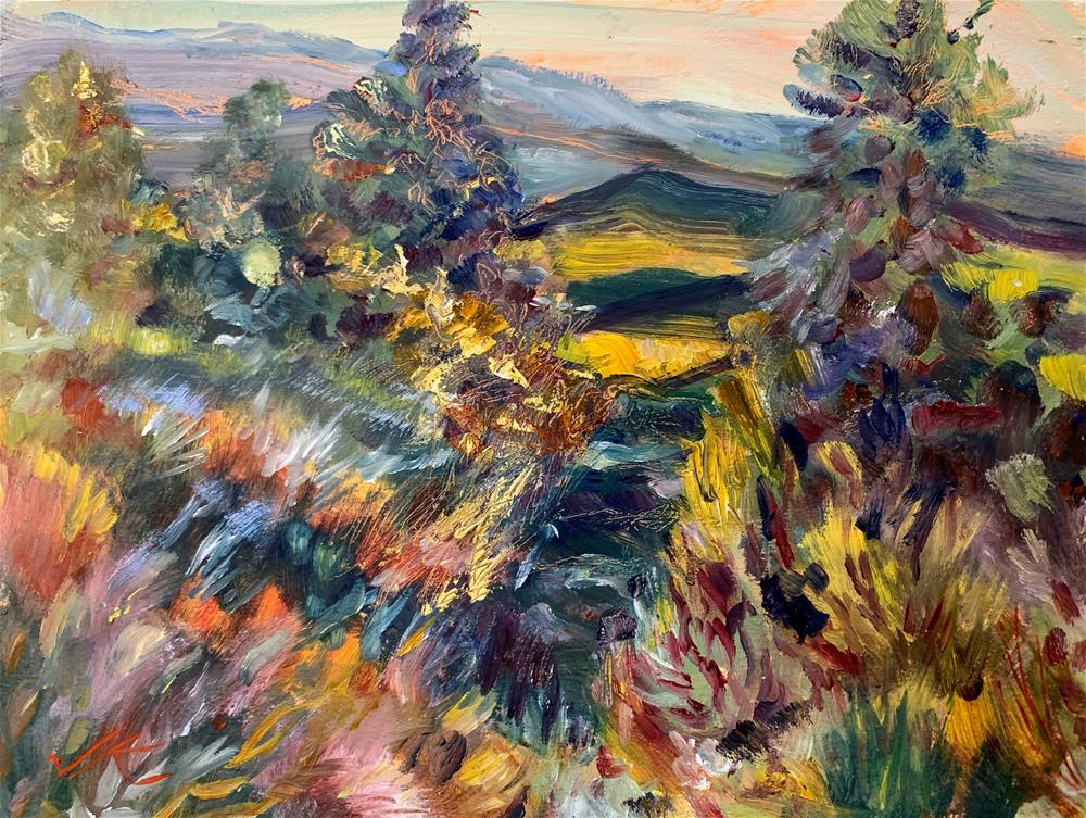 """Wet Mountain Valley"" original fine art by Jean Krueger"