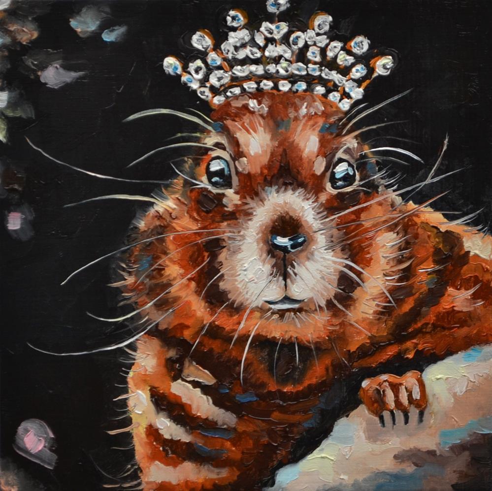 """""""Snow Queen"""" original fine art by Jacinthe Rivard"""