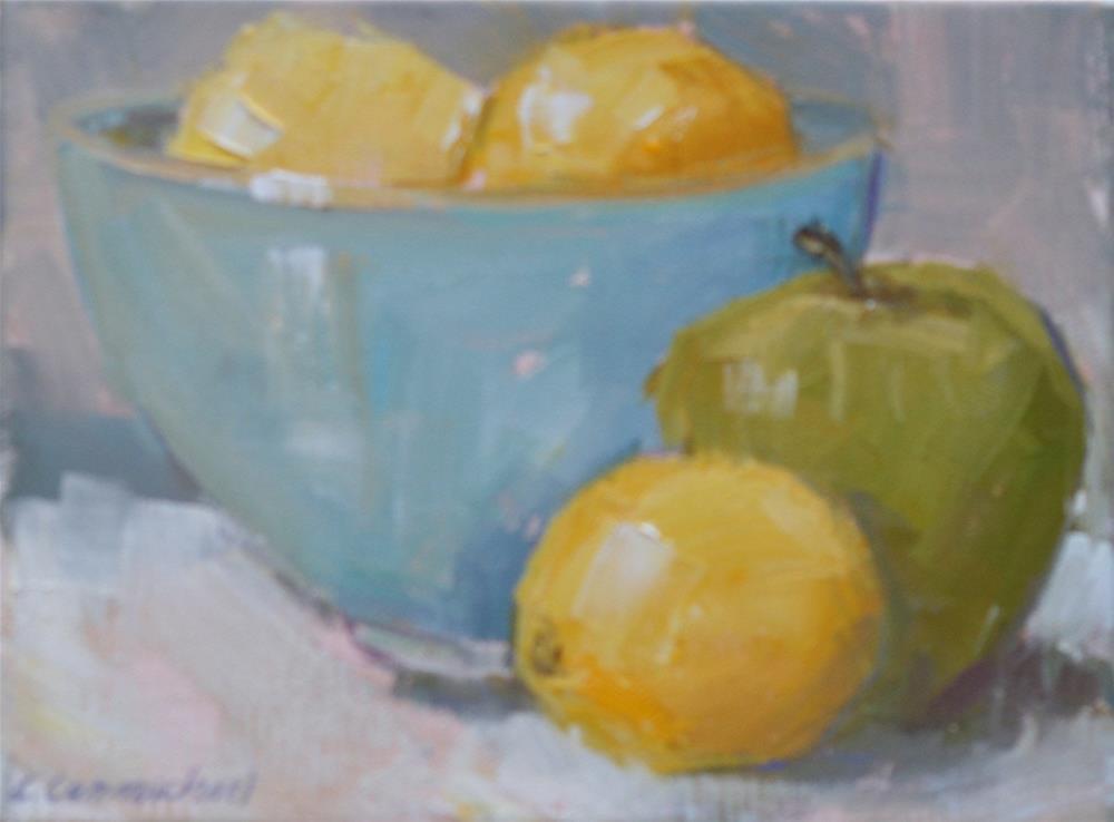 """some harmony"" original fine art by Carol Carmichael"