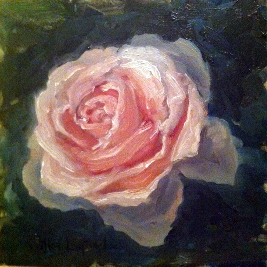"""Rose"" original fine art by Gilles Lafond"