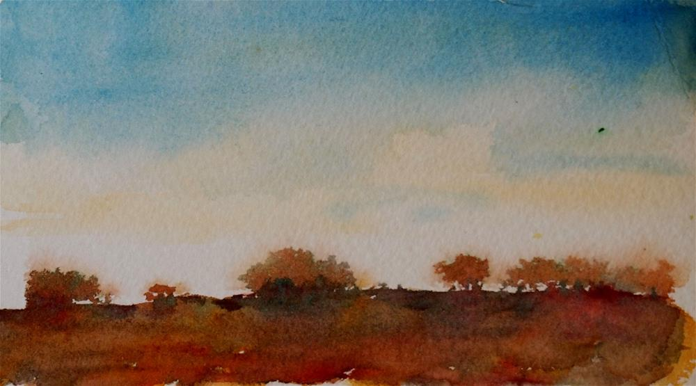 """Country Sunrise"" original fine art by Amy Bryce"