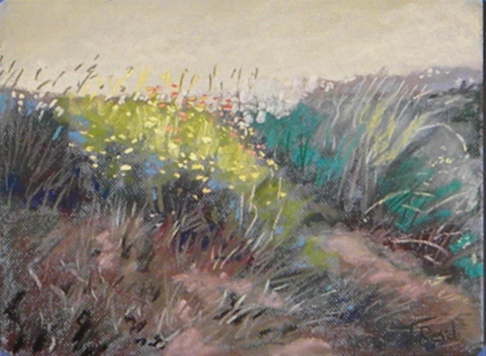 """""""Wildflower bouquet"""" original fine art by Toby Reid"""