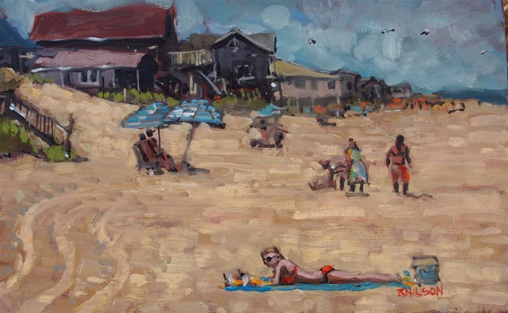 """In the Summertime"" original fine art by Rick Nilson"
