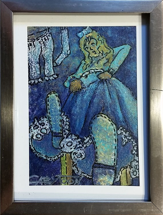"""The Princess"" original fine art by Gabriella DeLamater"