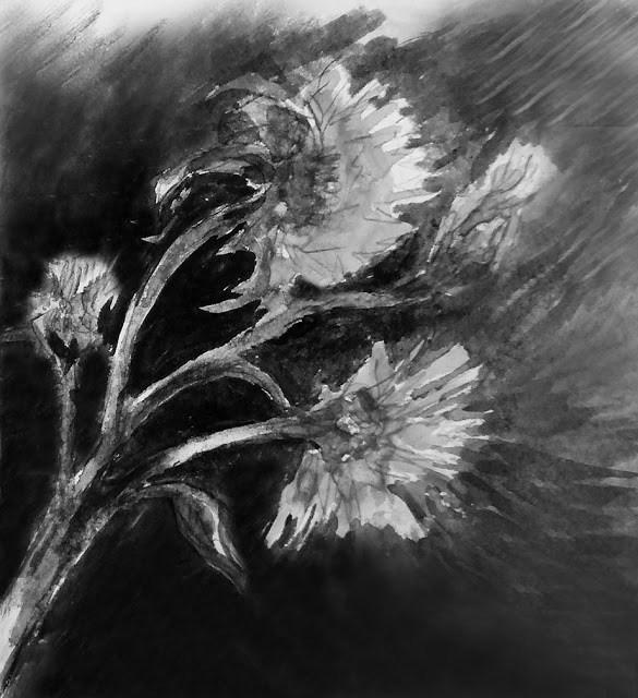 """""""Movement"""" original fine art by Mitsuru Cope"""