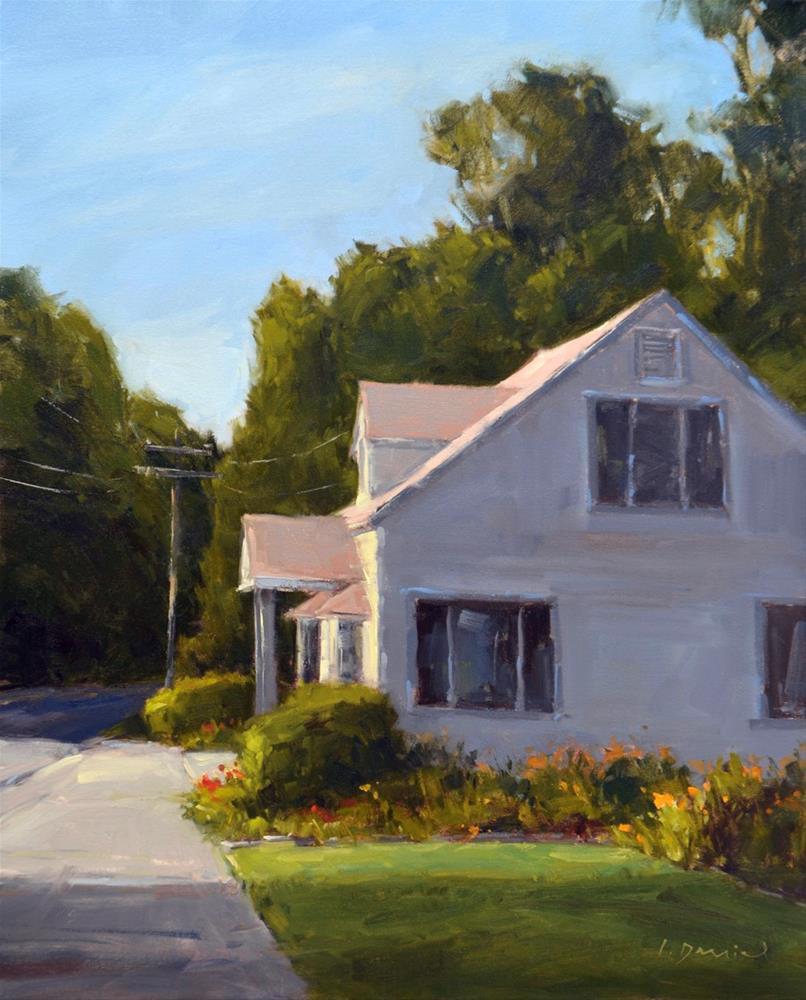"""Summer House - Process Demo and Show Tip #11"" original fine art by Laurel Daniel"