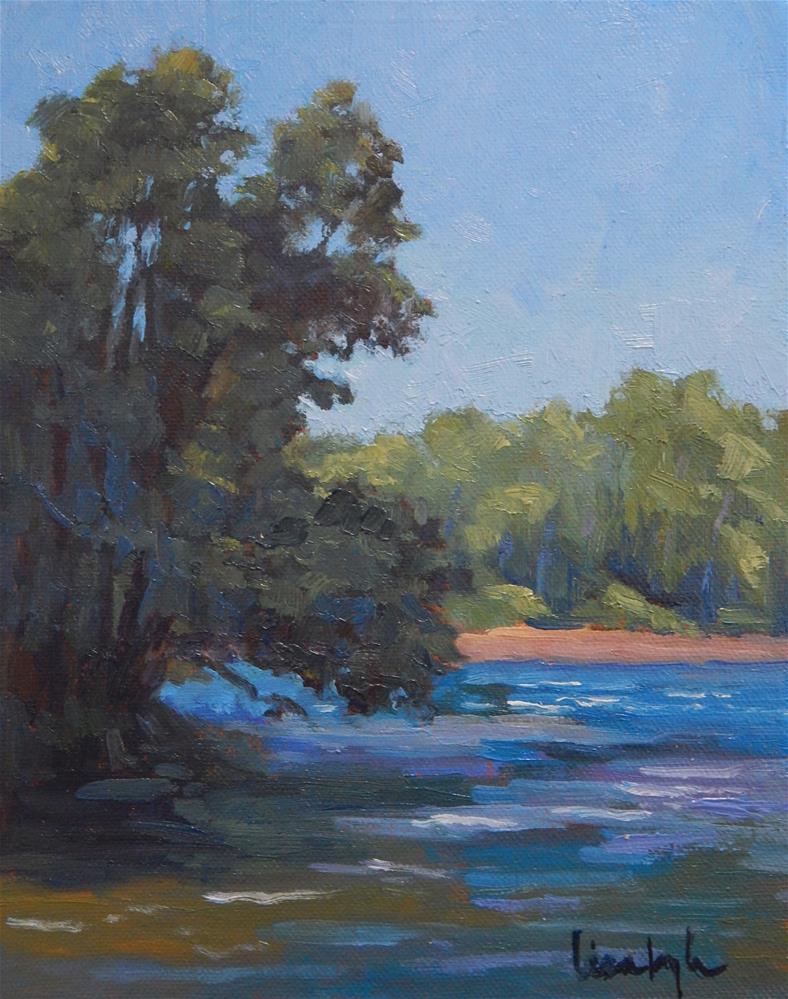 """Morning at Big Spring"" original fine art by Lisa Kyle"