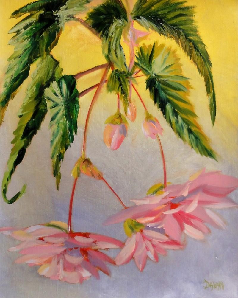 """""""Angel Wings"""" original fine art by Dalan Wells"""